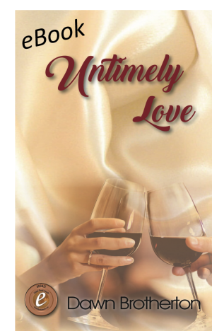 Book cover showing a man's hand and a woman's hand clinking red wine glasses.
